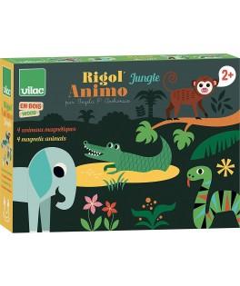 Rigol'animo Jungle par Ingela P. Arrhenius - VILAC