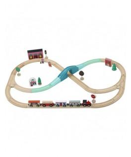 Circuit de train Grand Express Ingela P.Arrhenius - VILAC