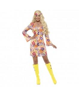 Deguisement Hippie Woodstock Dame