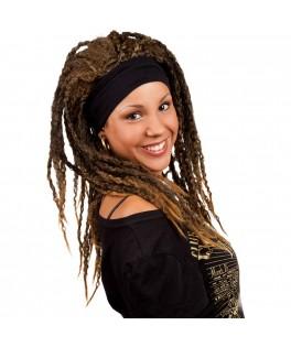 Perruque Afro avec bandeau