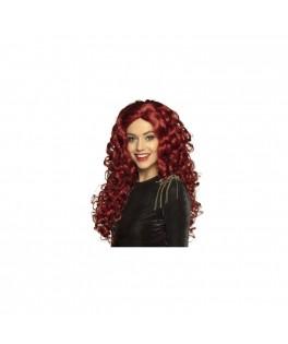 Perruque Mylène rousse