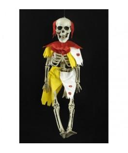 Suspension Squelette Clown Zombie