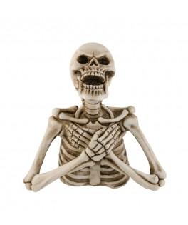 Buste squelette en résine