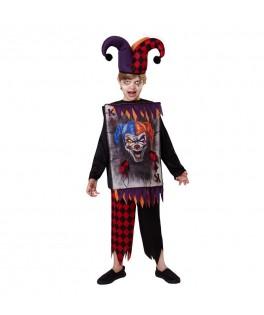 Déguisement Crazy Jester enfant