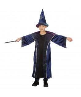 Déguisement Sorcier enfant avec chapeau