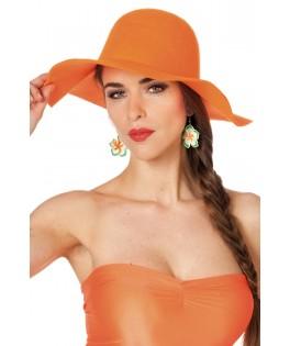 Chapeau Hippie orange