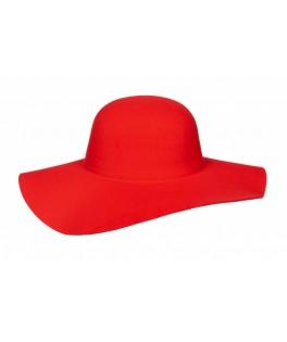 Chapeau Hippie rouge