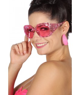Lunettes Pink glamour