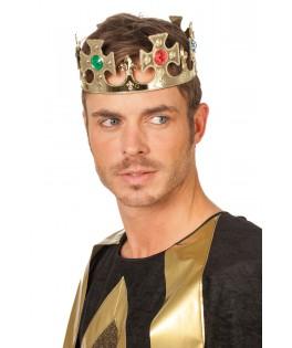 Couronne de roi dorée