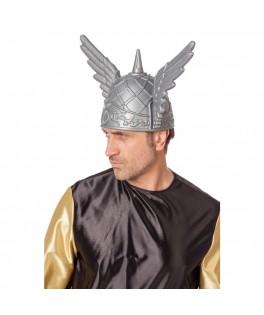 Casque viking avec ailes