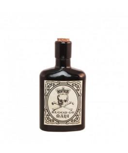 Flacon de poison noir en verre