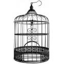Cage métal noir