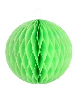 boules alveolees vert