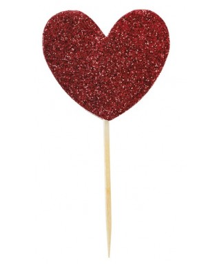 pics a gateaux coeur rouge