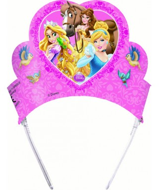 Diadèmes Princesses & Animaux  x6