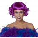 Perruque Fashion courte violet femme