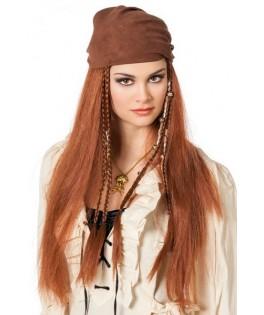 perruque pirate femme