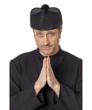 chapeau de cure noir homme