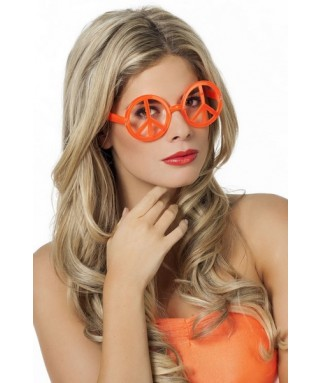 Lunettes hippie peace and love