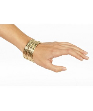 bracelet grecque dore
