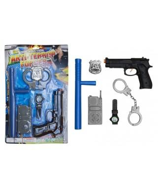 set accessoires policier