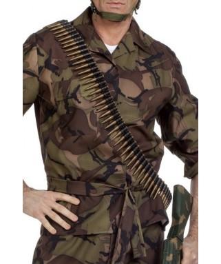 ceinture de munitions de militaire