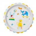 12 Assiettes Silly Circus 23 cm