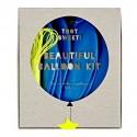 Kit de 8 gros ballons bleus