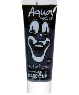Tube aquacolor 35 ml noir