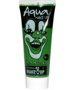 Tube aquacolor 35 ml vert