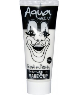 Tube aquacolor 35 ml blanc