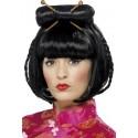 Perruque noire femme asiatique