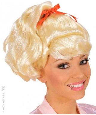perruque dame années 60