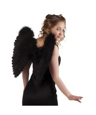 Ailes d ange plumes noires