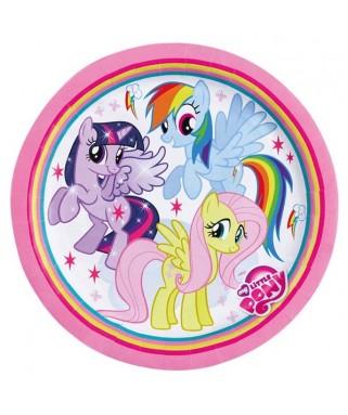 assiettes anniversaire my little pony