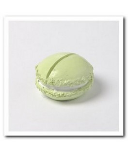 porte nom macaron vert anis