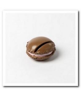 porte-nom macaron chocolat