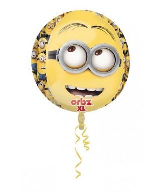 Ballon alu Orbz Les Minions