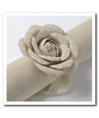roses lin a pois blanc