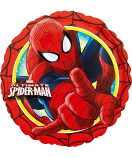 ballon mylar anniversaire spiderman