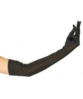 Gants de Cabaret longs noirs