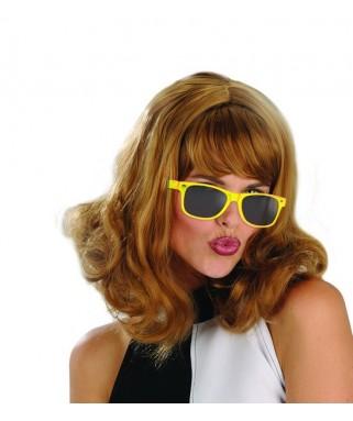 lunettes fluo jaune