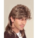 Perruque Mullet luxe homme