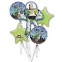 Bouquet de 5 ballons alu Toy Story