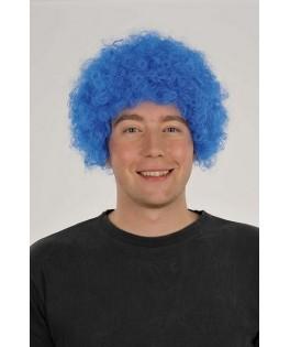 Perruque pop Bleu