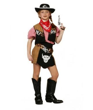 Déguisement Cowgirl Buffalo fille