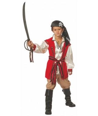 Déguisement Pirate Barbe Rousse garçon