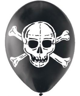 ballons pirate tete de mort