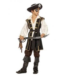 Déguisement Pirate brun garçon