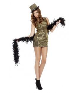 déguisement robe paillettes disco